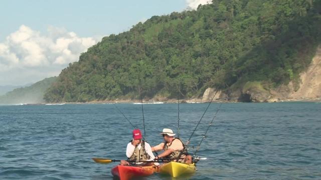 Costa rica kayak fishing pt 1 the kayak fishing show for Costa rica fishing season
