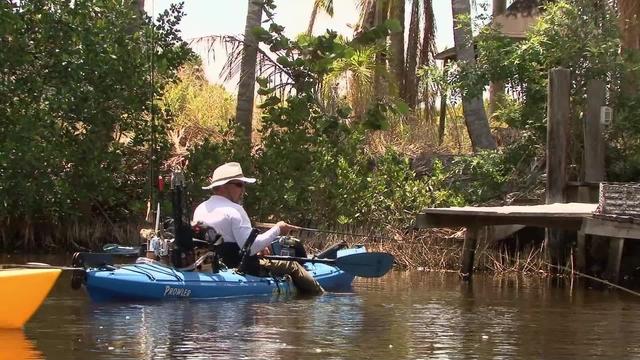 Florida saltwater flats kayak fishing the kayak fishing show for Saltwater fishing expo