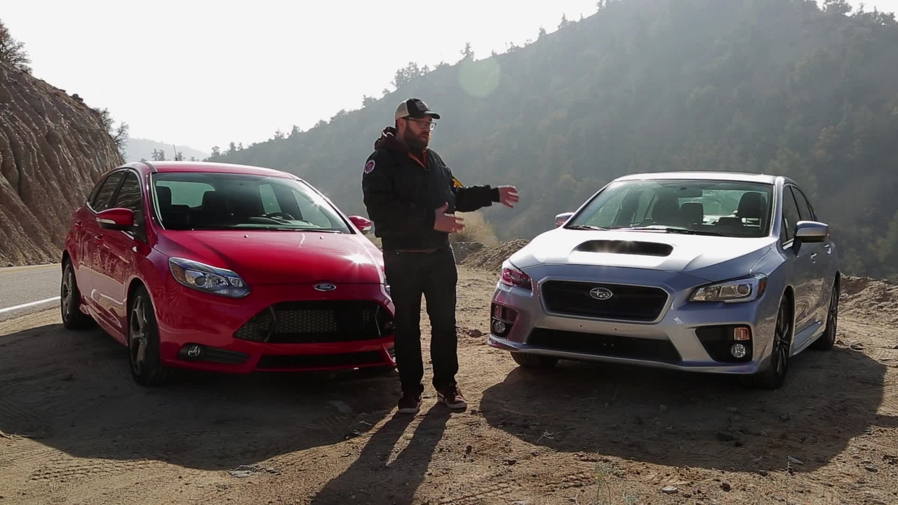 2015 Subaru WRX vs 2014 Ford Focus ST! Head 2 Head Ep. 50