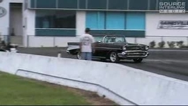 1957 Chevrolet Bel Air Nitto NT05 Dragstrip Tire Test Video