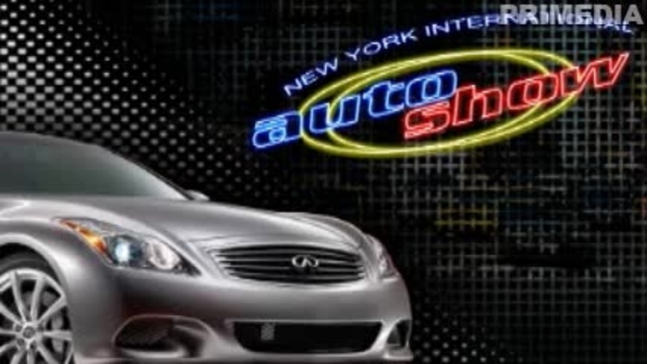 2007 New York: Infiniti EX Concept Unveiling Video