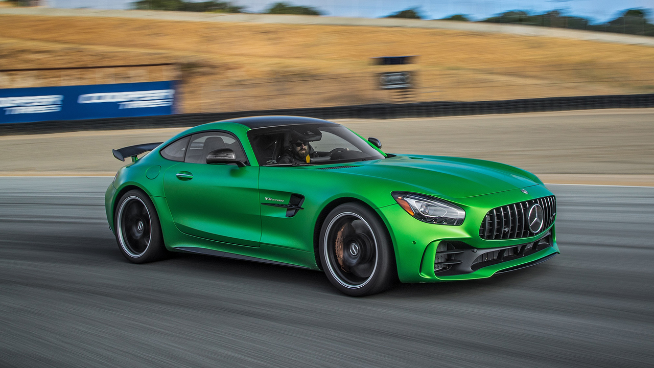 2018 Mercedes-AMG GT R Hot Lap! - 2017 Best Driver's Car Contender