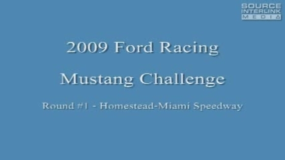 Part 1: Ted Anthony, Jr. wins the Ford Racing Mustang Challenge at Homestead