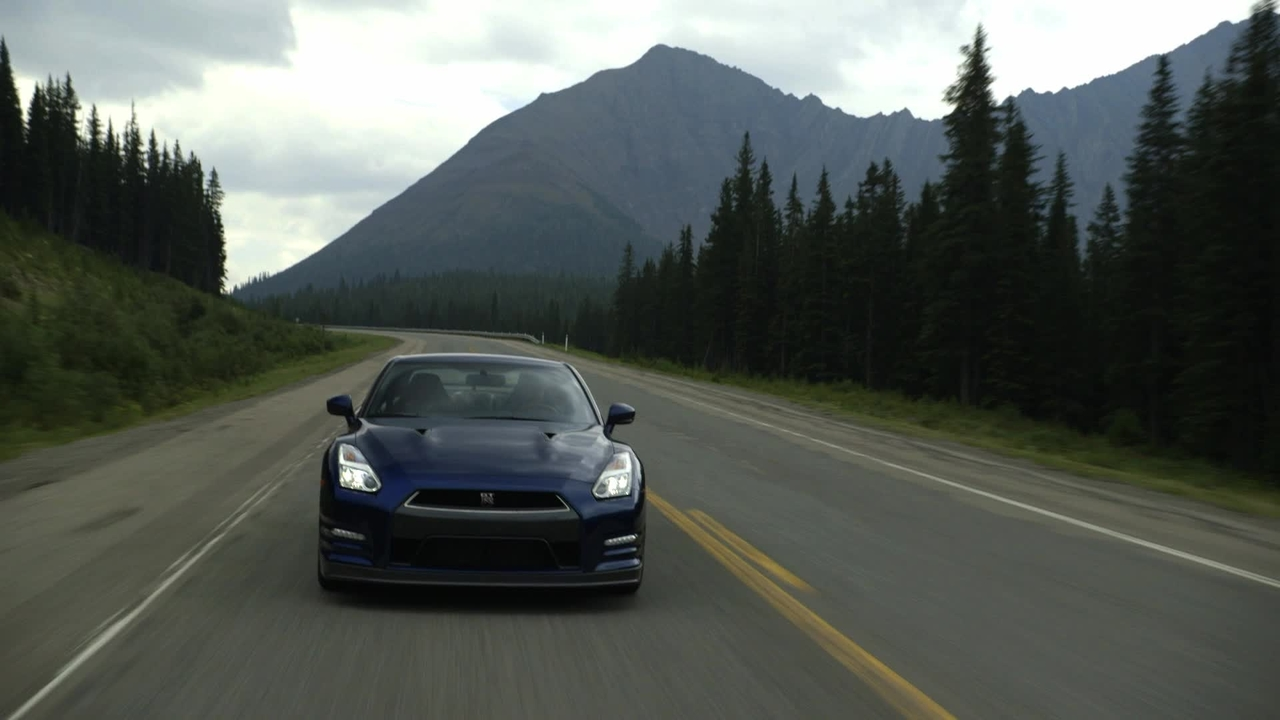 Absolute Alberta! 2014 Nissan GT-R Black Edition Flies Through Canadian Rockies! - Epic Drives Ep. 30