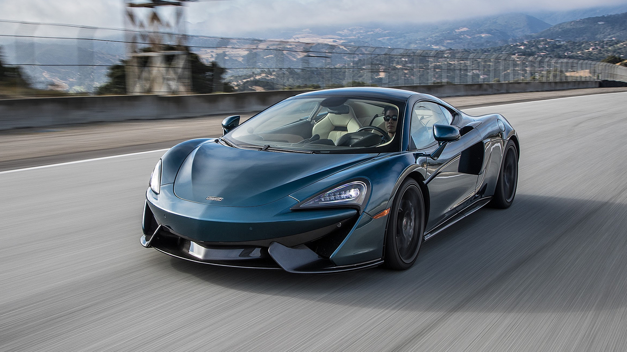 2016 McLaren 570GT Hot Lap! - 2017 Best Driver's Car Contender