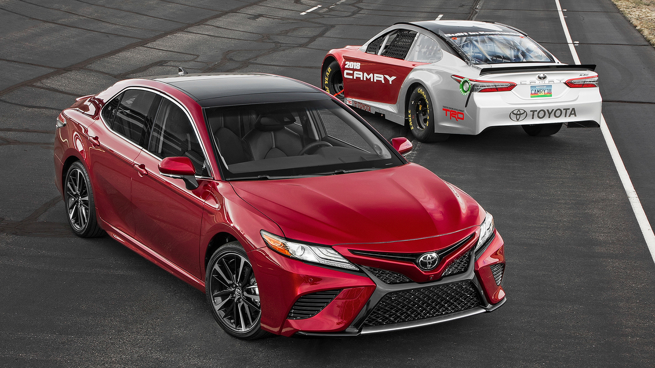 Intersection: Racetrack meets Main Street in a All-New Camry!