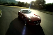 Mercedes SLS AMG in PS3 GT5 video game