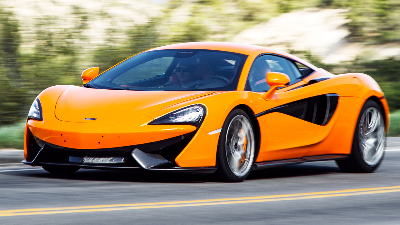2016 McLaren 570S: Supercar Speed with Sports-car Fun