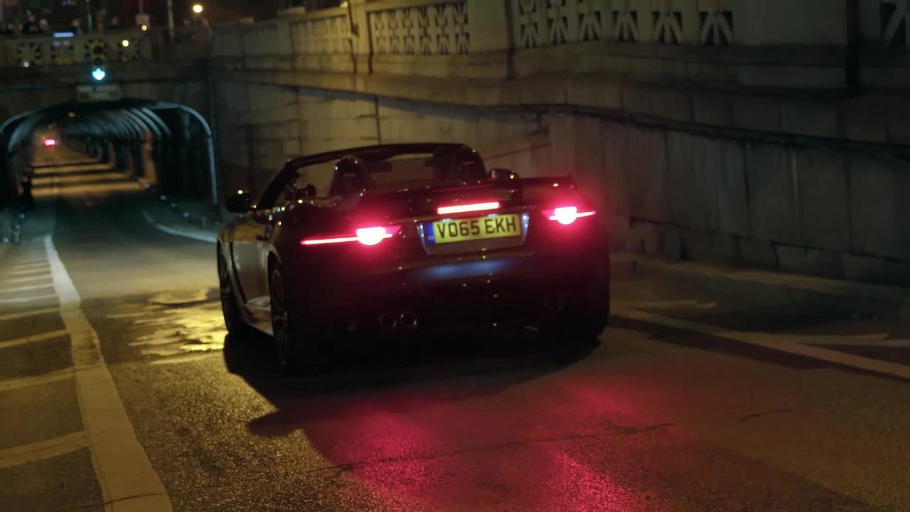 Jaguar F-TYPE SVR Tunnel Drive