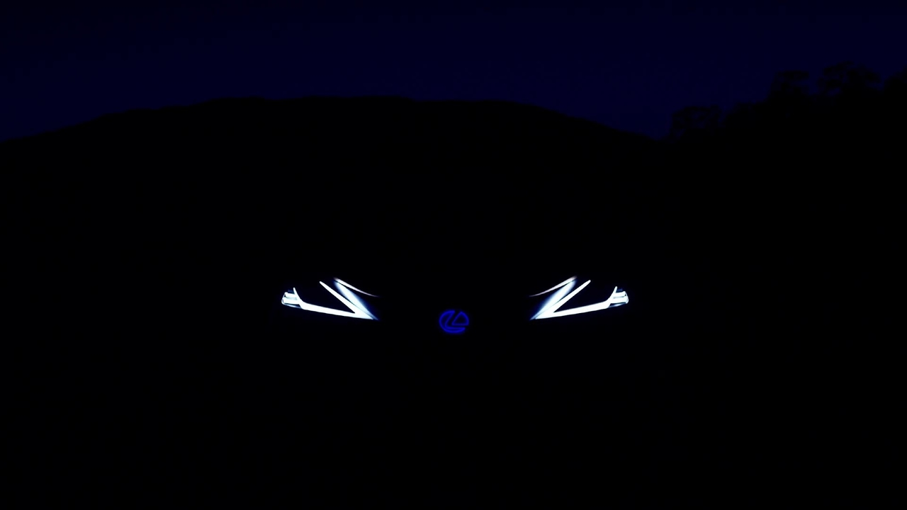 Lexus LF-1 Limitless Concept Teaser Video