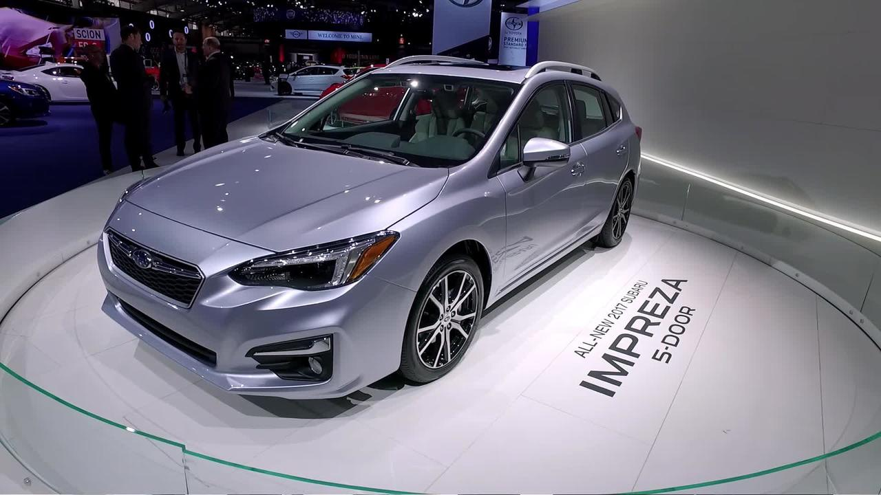 2017 Subaru Impreza 5-Door at the 2016 New York Auto Show