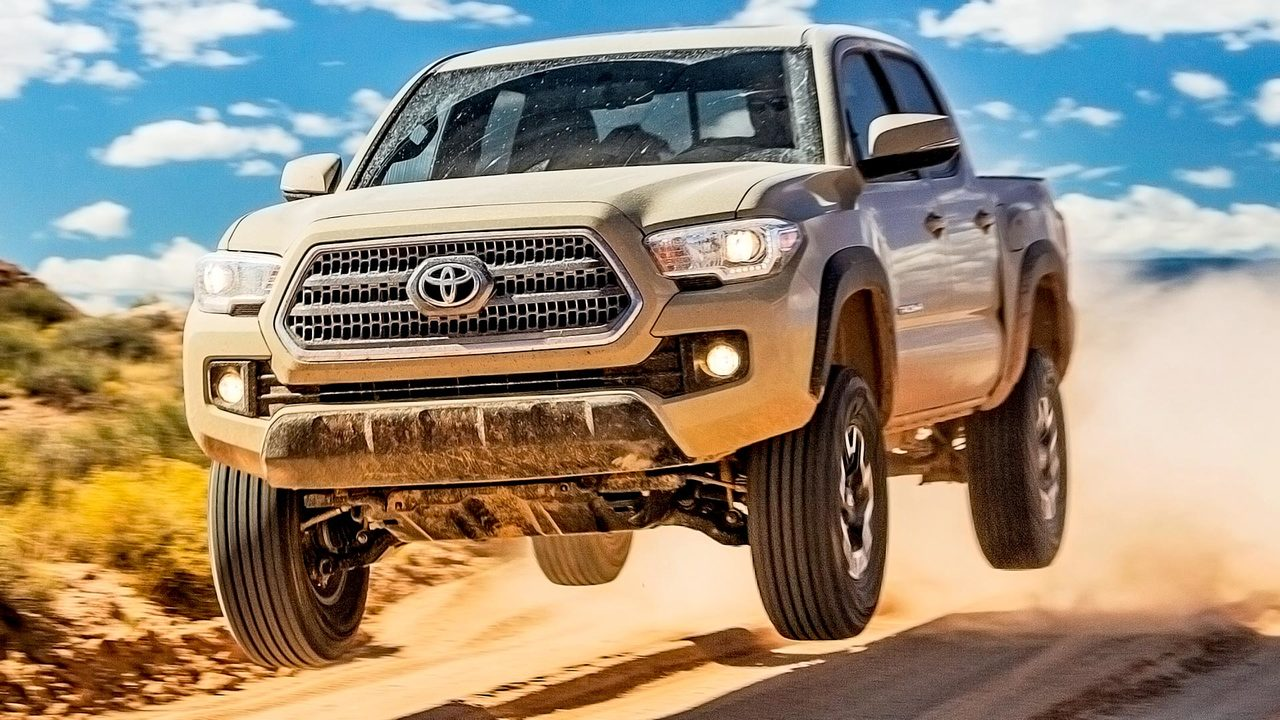 2016 Toyota Tacoma TRD: Through Utah's Big Five in the All-New Off Road Pickup!