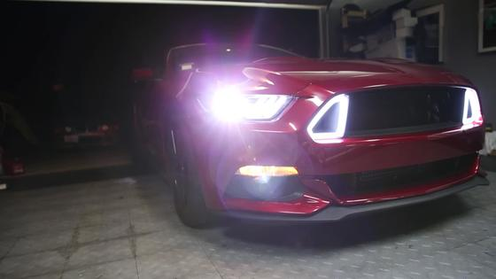 All new RTR S550 grille install