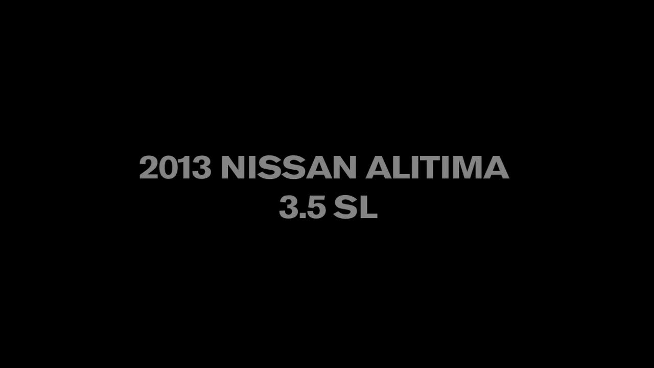 2013 Nissan Altima Walkaround