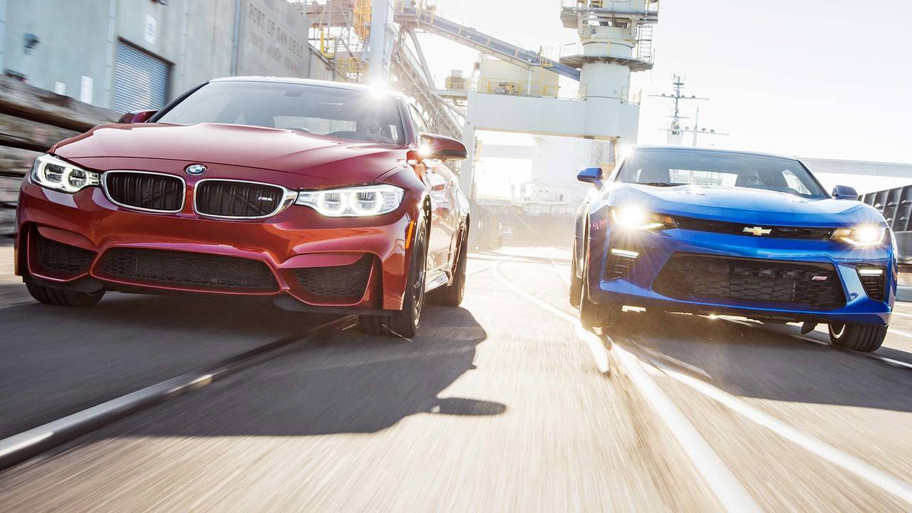 2015 BMW M4 vs. 2016 Chevrolet Camaro SS