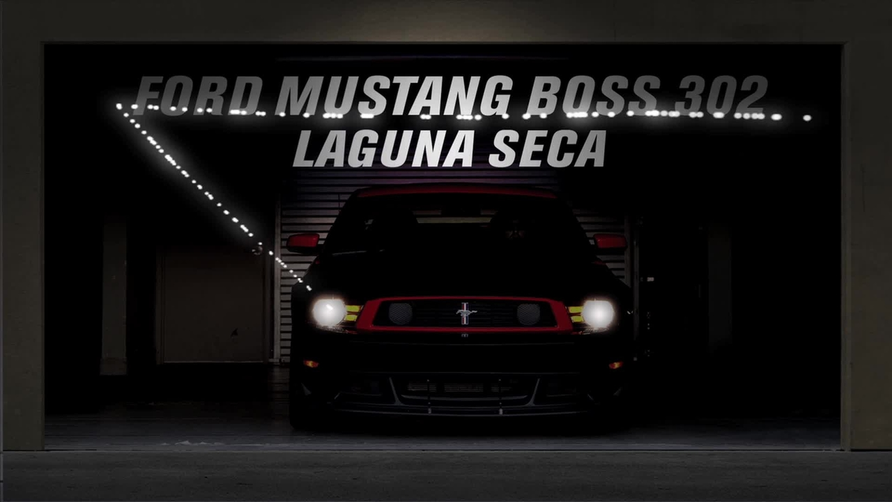 Hot Lap! 2012 Ford Mustang Boss 302 Laguna Seca