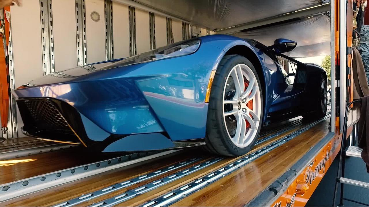 Exclusive Look: How a Ford GT gets delivered