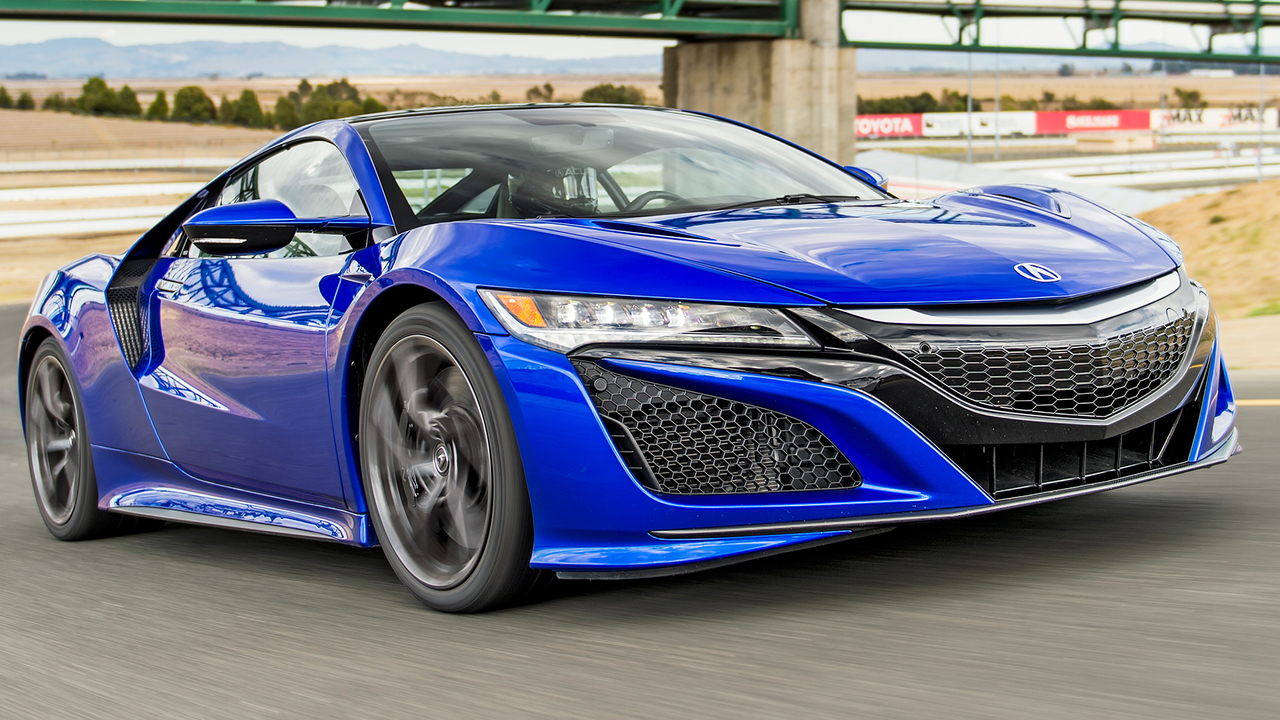2017 Acura NSX – The slowest supercar in the world?