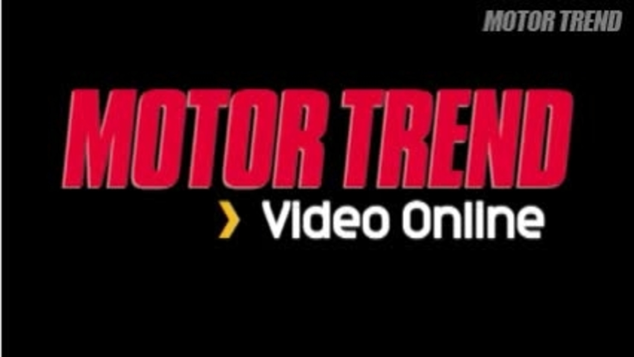 2006 SEMA Show: Motor Trend Proving Grounds Video