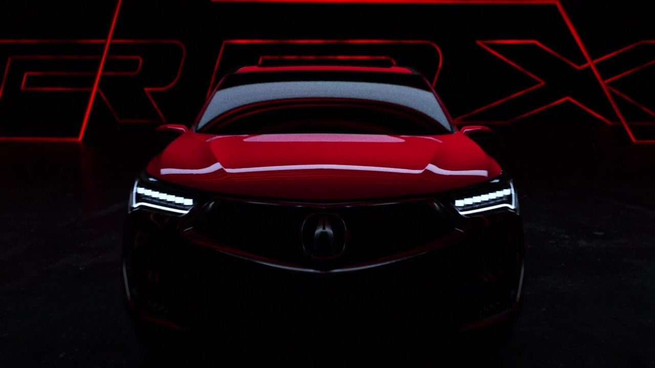 Acura RDX Prototype Teased Before Detroit
