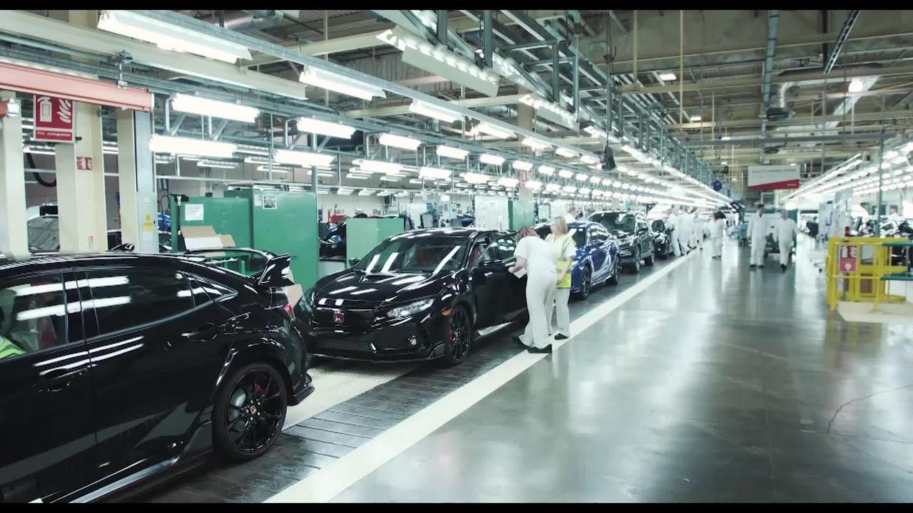 Inside Look: Honda Civic Type-R Factory