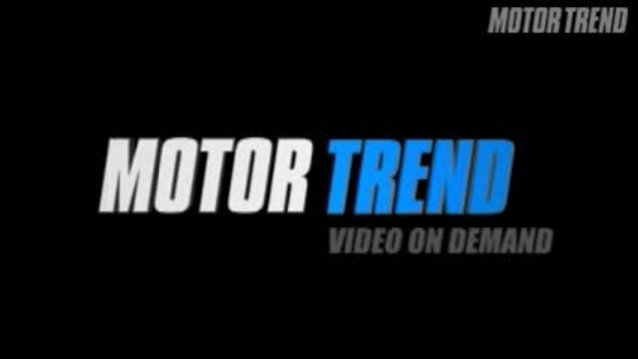 Of The Year: The Finalists - 2008 Motor Trend Car of the Year Video