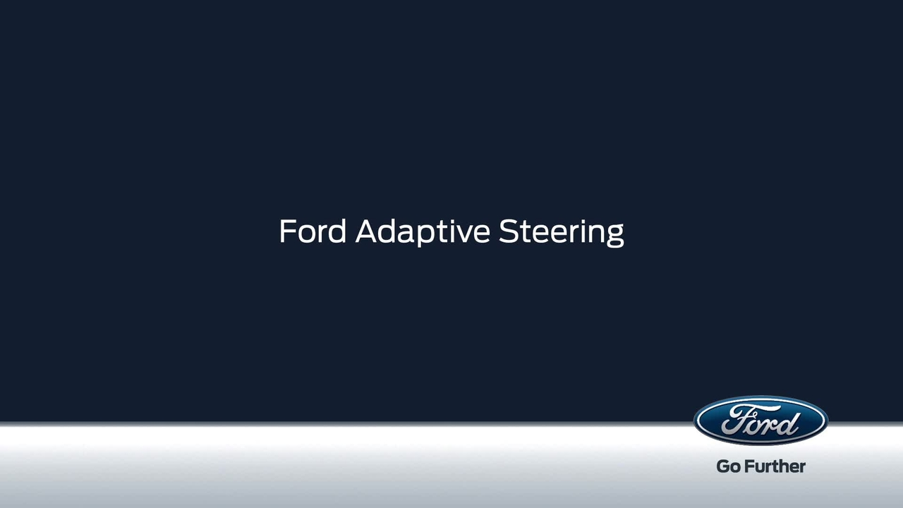 Fords Adaptive Steering Technology in Action