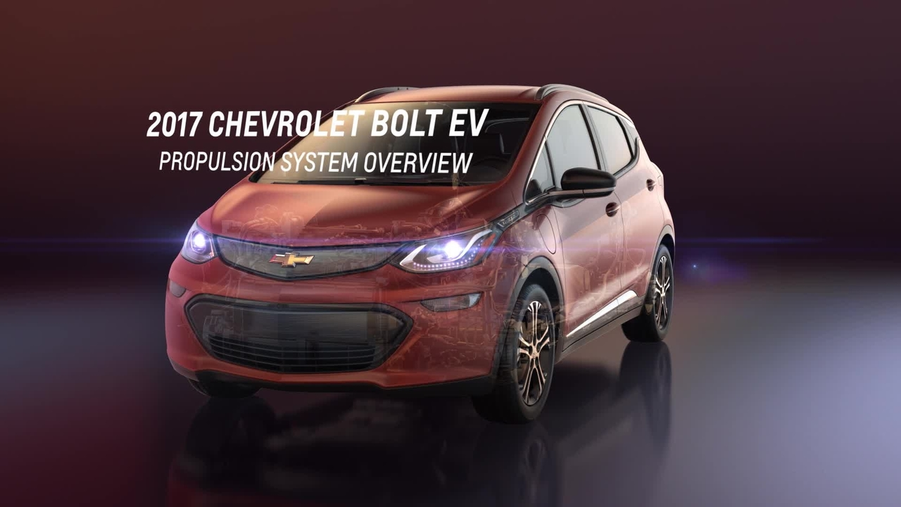 2017 Chevrolet Bolt EV Drivetrain Overview