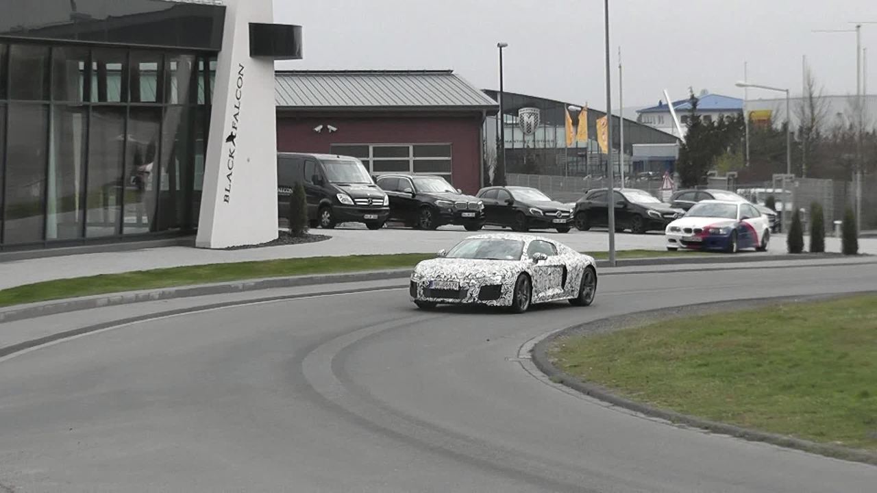Next-gen Audi R8 Spotted at the Nurburgring