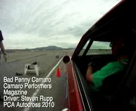 Bad Penny Autocross at El Toro During PCA Event