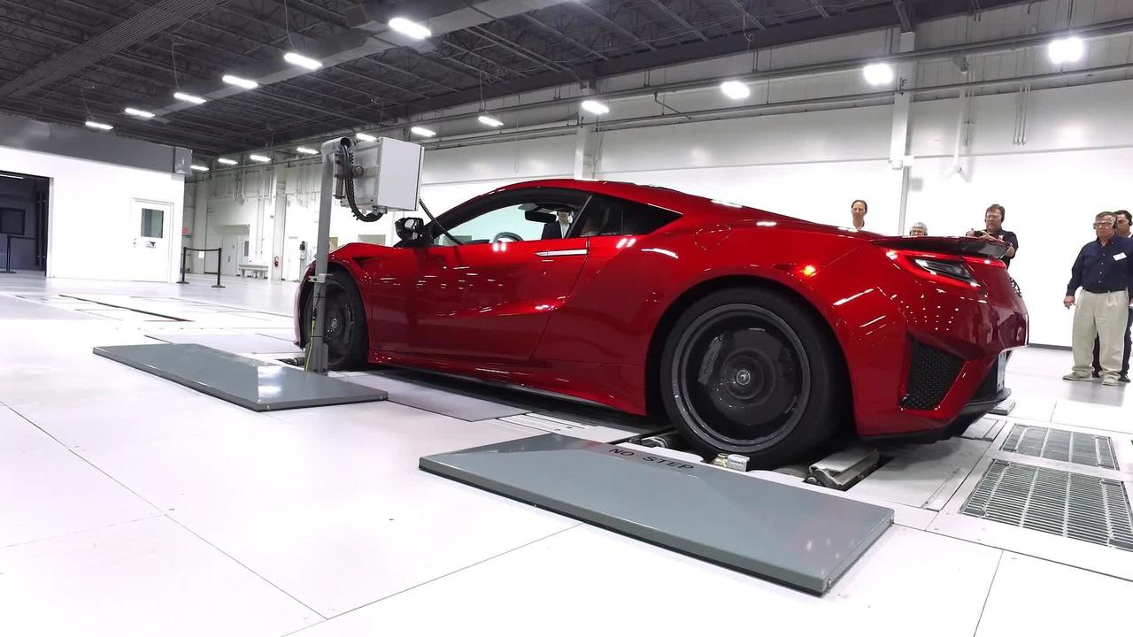 2017 Acura NSX Ohio Factory Tour