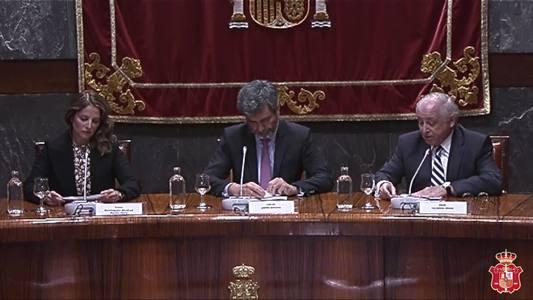 Video de la clausura de las VII Jornadas sobre la Jurisdicción Militar