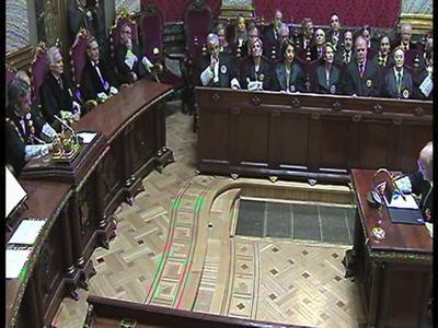 Acto de Toma de posesión de dos nuevos magistrados del Tribunal Supremo