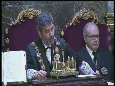 Los magistrados Ana María Ferrer y Andrés Palomo del Arco toman posesión como nuevos magistrados de la Sala Penal del Tribunal Supremo