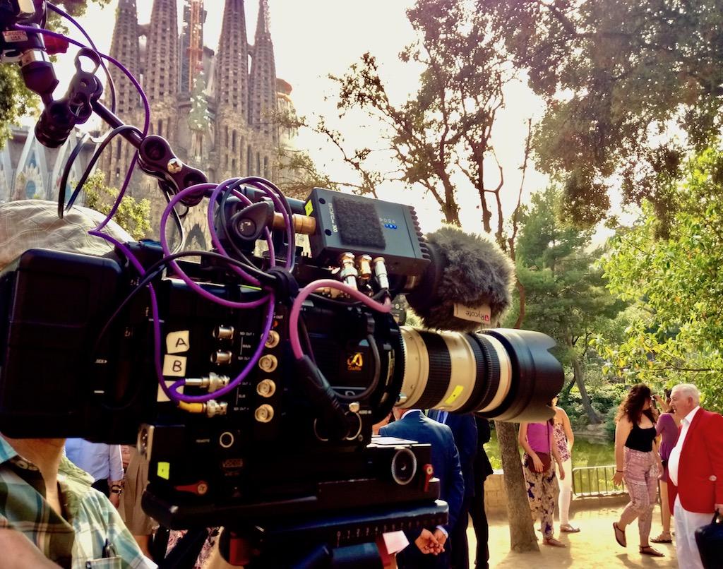 Barcelona filming
