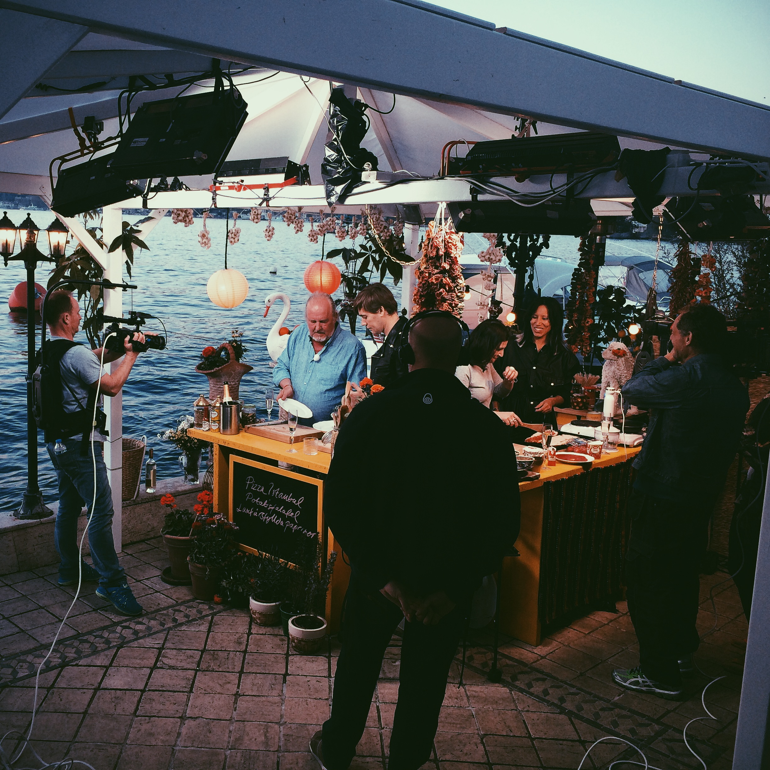 Production in Istanbul