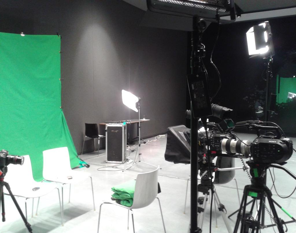Green Screen 4k shooting