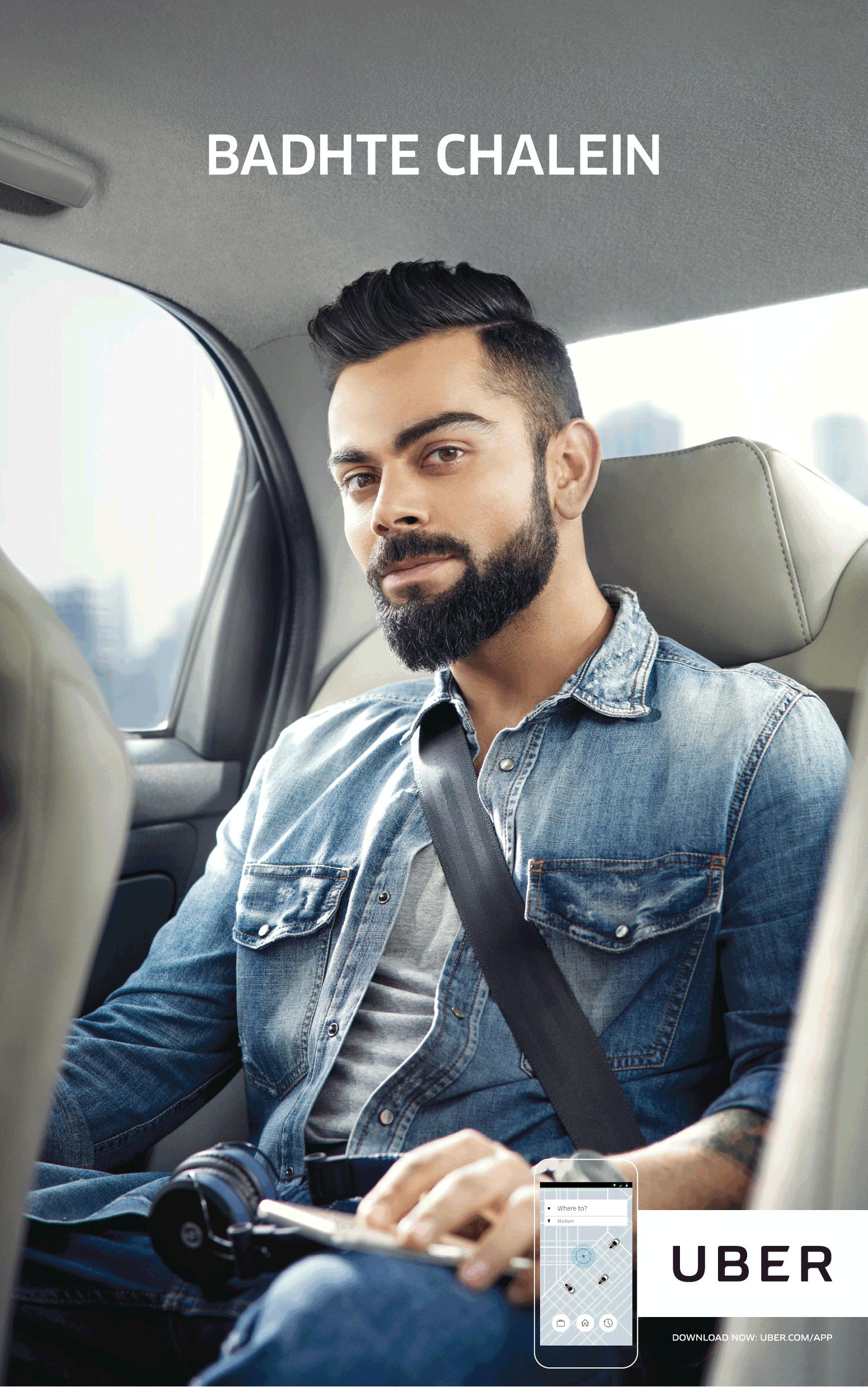 Uber - Virat Kohli (1)