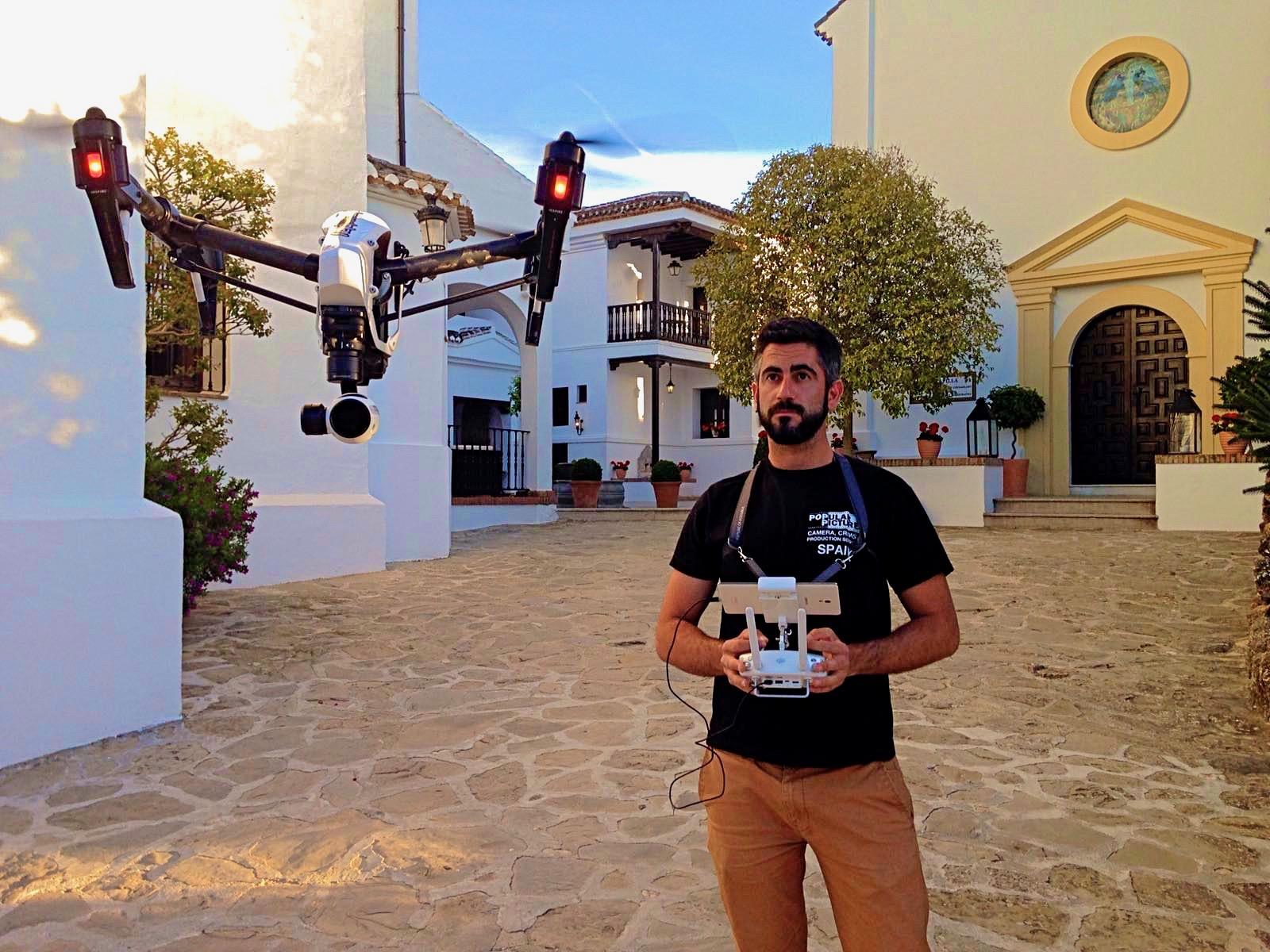 Drone pilots in Spain