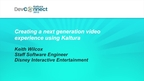 Creating a Next Generation Video Experience Using Kaltura